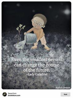 even the smallest person