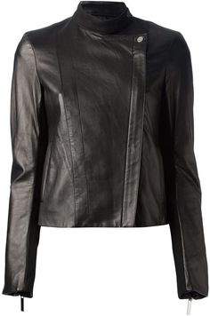 The Row double breasted biker jacket on shopstyle.com