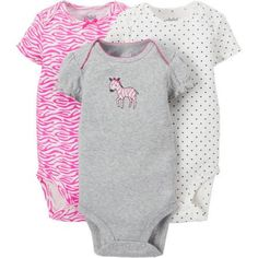 a328240d713d Child of Mine by Carter s - Child Of Mine By Carter s Newborn Baby Girl  Bodysuit
