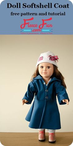 free doll coat pin image