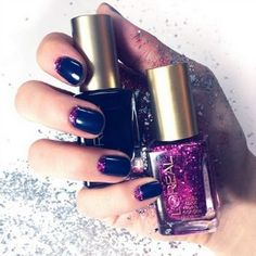 3 Ways to DIY a Chic Glitter Manicure Using Drugstore Polish