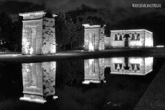 El Templo de Debod | Madrid en Blanco y Negro