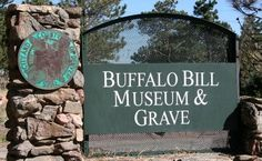 yeah...  Been there.  Buffalo Bill Museum and Grave in Golden, CO