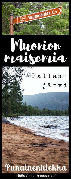 Muonion maisemia: Punainen hiekka, Pallasjärvi http://www.haaraamo.fi
