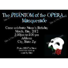 11429a9cccfbfb3b7cdbb05abeb54146 when i get married i got married phantom of the opera wedding invitations wedding newsday,Phantom Of The Opera Invitations