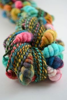 Oooo.  This yarn / wool is the bomb!  How fab!   Olive Rose by Blue Cocoon Yarn
