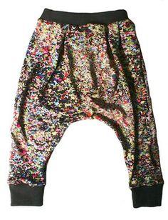 Toddler harem pants - free sewing pattern