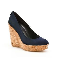 Stuart Weitzman CORKSWOON - love these shoes. Totally going to get these  for Paris!