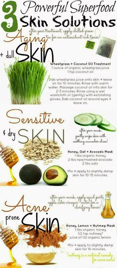 3 Powerful Superfood Skin Solutions