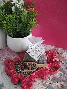 New-Natural-Dried-Lavender-Tiny-Petite-Miniature-Rose-Buds-Mix-Sachet-Bag