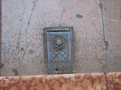 Street utility cover, Granada Spain