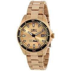 Invicta Men's 15186 Pro Diver Rose Gold-Tone Stainless Steel Watch