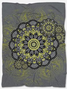 Provide warmth and comfort with this Chartreuse Blanket. With its incredible design and vibrant colors, it will make your home even more beautiful. Not only that but it will make you feel extreme coziness with its soft and warm fabric. It is a perfect gift for someone you want to make happy and at the same time feel comfortable. It is handmade just for you and has a unique design that can't be found anywhere else. Polar Fleece Blankets, Cozy Blankets, Make Happy, Beaded Bags, Bohemian Style, Vibrant Colors, The Incredibles, Tapestry, Warm