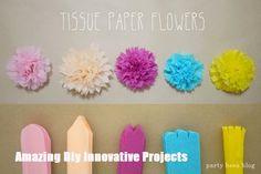 Mason Jar Diy, Mason Jar Crafts, Diy Kiddie Party Ideas, Flower Crafts, Diy Flowers, Flowers Decoration, Wedding Flowers, Handmade Flowers, Origami Decoration