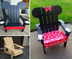 You'll be sitting pretty in your new Adirondack Chairs and we have lots of super cute ideas that you are going to . Check them all out now!