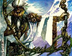 Elder Druid art by Richard Kane Ferguson