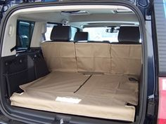 jeep storage ideas | Jeep Commander Accessory - Canvasback Jeep Commander Cargo Liners