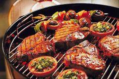 Una grigliata di carne per augurarvi buona cena!