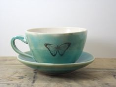 Cuppa Something Good! by Lelaine on Etsy.  My watercolor of a brown duck made the cut.  check it out