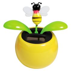 My take on the best solar dancing flowers. Flip-Flap, Bee and Pot designs covered and more. Bee On Flower, Flower Pots, Flowers, I Love Bees, My Love, Perpetual Motion Toys, Bee Happy, Solar Power, Cover Design