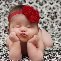 Baby Girls Headband... What an adorable picture!
