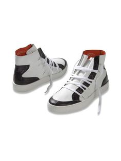 Men's Diesel Black Gold red, white and black Ivo sneakers