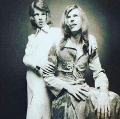 David Bowie & Freddie Buretti 1971 - Ph. Brian Ward