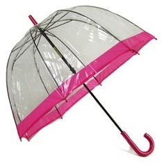 1960's chic umbrella...remember getting my first umbrella just like this.