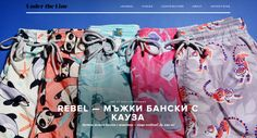 Rebel Swim on Under The Line! Premium men's swim shorts designed with passion and a purpose! www.rebelswim.com