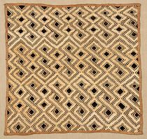 Shoowa Kuba Raffia Cloth Embroideries. African Textiles from the Congo