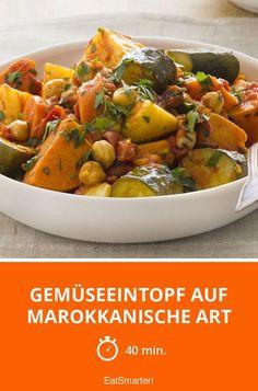 Gemüseeintopf auf marokkanische Art - smarter - Zeit: 40 Min. | eatsmarter.de