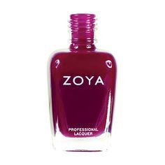 Zoya Vanessa Nail Polish   Vanessa by Zoya can be best described as a soft but saturated dark pink berry creme with red undertones. A sultry oxblood shade that looks very polished.   Cream   Intensity: 5