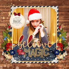 Cindy's Layered Templates - Holiday Frames by Cindy Schneider  Believe in Magic by Kristin Cronin-Barrow  #believeinmagic: Prince Charming by Amber Shaw & Studio Flergs  #believeinmagic: Fair Beauty by Amber Shaw & Studio Flergs