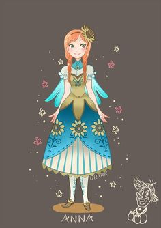 Anna from Frozen source needed Gif Disney, Arte Disney, Disney Films, Disney Fan Art, Disney And Dreamworks, Disney Love, Disney Magic, Disney Pixar, Disney Characters