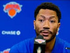 DERRICK ROSE FIRST PRESS INTERVIEW PART OF NEW YORK KNICKS DOESN'T KNOW  WHY HE WAS TRADED AND THANKS CHICAGO BULLS FOR TRADING HIM