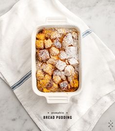 Pumpkin Bread Pudding / Love and Lemons