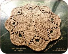 Ideas for sewing crafts and projects, kitting crafts and projects, and crochet crafts and projects. Advice on how to knit, how to sew and how to crochet Crochet Doily Rug, Crochet Placemats, Crochet Mandala Pattern, Crochet Diagram, Crochet Shoes, Love Crochet, Crochet Crafts, Crochet Stitches, Crochet Projects