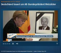 #Staatsakt / Staatsgedenken am 11. Feb 2015 im Berliner Dom! #Deutschland trauert um Alt-Bundespräsident #Weizsäcker http://www.n24.de/n24/Mediathek/videos/d/6079892/deutschland-trauert-um-alt-bundespraesident-weizsaecker.html