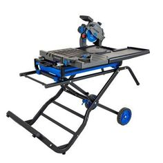 Get powerful, professional results with this Delta Cruzer 7 in. Wet Tile Saw. Its 13 amp motor cuts through natural and man-made stone, tile and pavers. The diamond cutting wheel handles stone up to Table Saw Stand, Diy Table Saw, Table Saw Station, Stone Deck, Stainless Steel Railing, Sliding Table, Saw Tool, Decking Material, Tile Saw