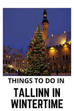 Wondering what are the best things to do in Tallinn in wintertime? Here are our favorite Tallinn Estonia things to do... Travel Route, Europe Travel Guide, Europe Destinations, Travel Deals, Travel Tips, Travel Guides, Estonia Travel, Best Places To Travel, Winter Time