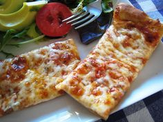 Easy Cheese Pizza with Homemade Pizza Sauce