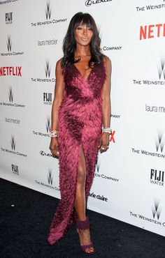 Naomi Campbell attends The Weinstein Company & Netflix's 2015 Golden Globes After Party at The Beverly Hilton Hotel on January 11, 2015 in Beverly Hills, California.   - Cosmopolitan.com