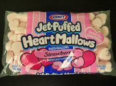 Jet-Puffed, Strawberry Marshmallows, Bag (Pack of Kraft **Heat Sensitive Item, See Seller Details about refunds before ordering during the Summer Months** Jet-Puffed Strawberry Marshmallows Bag Pack of 4 Jet Puffed Marshmallows, Flavored Marshmallows, Recipes With Marshmallows, Chocolate Babies, Chocolate Sticks, Melting Chocolate, Candy Recipes, Gourmet Recipes, Snack Recipes