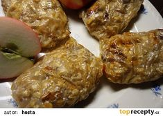Jablečné závitky v rýžovém papíru recept - TopRecepty.cz Pork, Beef, Kale Stir Fry, Meat, Pork Chops, Steak