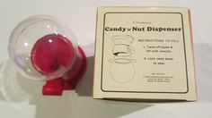 Candy & Nut Dipspenser 1986 by LifesEverAfter on Etsy