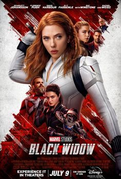 Black Widow Film, Film Black, Movie Black, Black Widow Marvel Movie, Rachel Weisz, Natasha Romanoff, Scarlett Johansson, Films Marvel, Marvel Cinematic