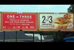 Cuando Burger King sabía que no te importaba. When Burger King knew you didn't care. | 17 Photos That Are Hilariously Perfect