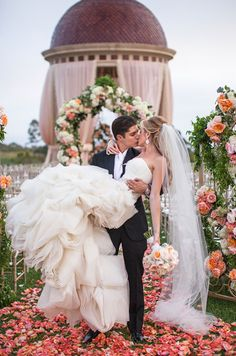 Practice your kiss with your groom! You'd be surprised how tricky it is to achieve a graceful kiss photo on camera.