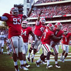 Just 30+ days and counting..... Can't wait to take my seat in Sanford Stadium!