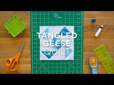 Tangled Geese - Quilt Snips Mini Tutorial